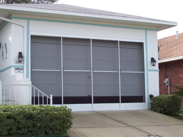 Central Florida Garage Screens Motorized Garage Screens Lakeland