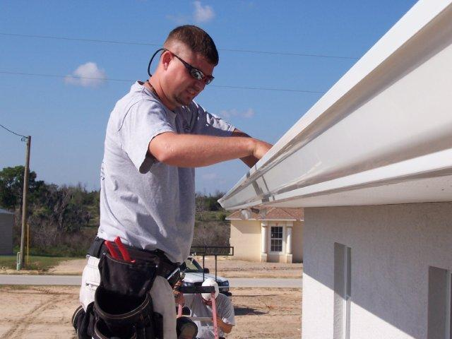 Lakeland Seamless Aluminum Rain Gutters Winter Haven