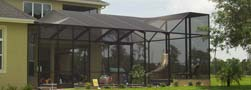 Aluminum Screen Enclosures in Central Florida